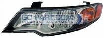 2009-2009 Kia Forte Headlight Assembly - Left (Driver)