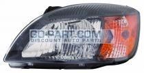 2010-2011 Kia Rio Headlight Assembly - Left (Driver)