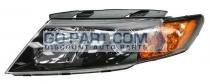 2009-2010 Kia Optima / Magentis Headlight Assembly - Left (Driver)