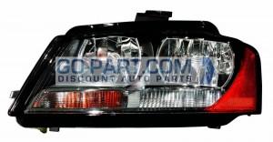 2009-2013 Audi A3 Headlight Assembly - Left (Driver)
