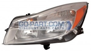 2011-2012 Buick Regal Headlight Assembly - Left (Driver)