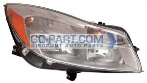 2011-2012 Buick Regal Headlight Assembly - Right (Passenger)