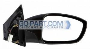 2011-2012 Hyundai Sonata Side View Mirror - Right (Passenger)