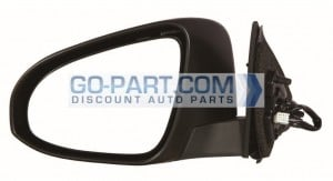 2012-2012 Toyota Camry Hybrid Side View Mirror - Left (Driver)