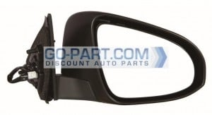 2012-2012 Toyota Camry Hybrid Side View Mirror - Right (Passenger)