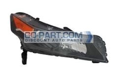 2012-2012 Acura TL Headlight Assembly - Right (Passenger)