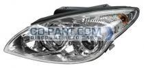 2010-2012 Hyundai Elantra Headlight Assembly - Left (Driver)