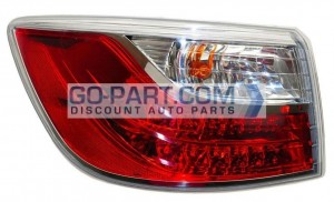 2010-2012 Mazda CX-9 Tail Light Rear Lamp - Left (Driver)