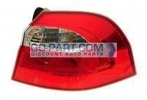 2012-2012 Kia Rio5 Tail Light Rear Lamp - Right (Passenger)