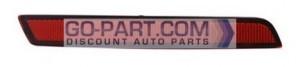2013-2013 Chevrolet (Chevy) Malibu Hybrid Rear Bumper Reflector - Right (Passenger)