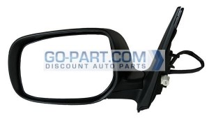 2009-2012 Toyota Corolla Side View Mirror - Left (Driver)