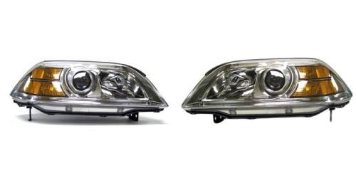 Right Side Replacement Headlight Assembly For 2004-2006 Acura MDX