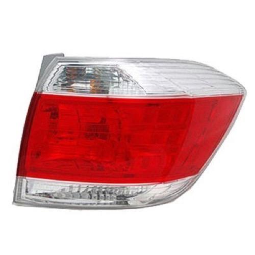 2012 Toyota Highlander Limited: 2012 Passenger Side Toyota Highlander Rear Tail