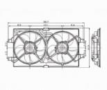 Chrysler Concorde Cooling Fans