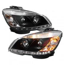 Mercedes-Benz C230 Performance Headlights Aftermarket