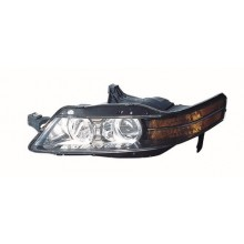 2007 - 2008 Acura TL Front Headlight Assembly Replacement Housing / Lens / Cover - Left <u><i>Driver</i></u> Side - (Base Model + Type-S)