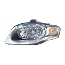 2005 -  2008 Audi A4 Front Headlight Assembly Replacement Housing / Lens / Cover - Left <u><i>Driver</i></u> Side