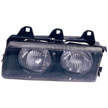 1992 -  1995 BMW 325is Front Headlight Assembly Replacement Housing / Lens / Cover - Left <u><i>Driver</i></u> Side