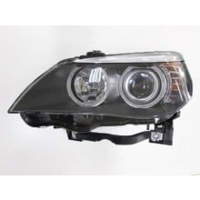 2008 -  2010 BMW 528i Front Headlight Assembly Replacement Housing / Lens / Cover - Left <u><i>Driver</i></u> Side