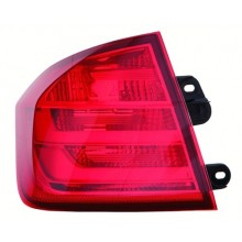 2012 - 2015 BMW 328i Rear Tail Light Assembly Replacement / Lens / Cover - Left <u><i>Driver</i></u> Side Outer - (F30 Body Code; Sedan)