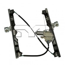 2006 -  2010 Jeep Grand Cherokee Power Window Motor And Regulator Assembly - Front Left <u><i>Driver</i></u> Side Replacement