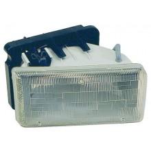 1991 -  1996 Dodge Dakota Front Headlight Assembly Replacement Housing / Lens / Cover - Left <u><i>Driver</i></u> Side