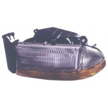 1998 -  2004 Dodge Dakota Front Headlight Assembly Replacement Housing / Lens / Cover - Left <u><i>Driver</i></u> Side