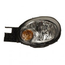 2003 -  2005 Dodge Neon Front Headlight Assembly Replacement Housing / Lens / Cover - Left <u><i>Driver</i></u> Side