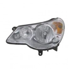 2007 - 2010 Chrysler Sebring Front Headlight Assembly Replacement Housing / Lens / Cover - Left <u><i>Driver</i></u> Side - (Convertible)