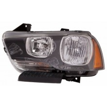 2011 -  2014 Dodge Charger Front Headlight Assembly Replacement Housing / Lens / Cover - Left <u><i>Driver</i></u> Side
