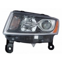 2014 -  2015 Jeep Grand Cherokee Front Headlight Assembly Replacement Housing / Lens / Cover - Left <u><i>Driver</i></u> Side
