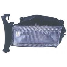 1997 - 2004 Dodge Dakota Front Headlight Assembly Replacement Housing / Lens / Cover - Left <u><i>Driver</i></u> Side