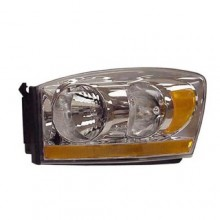 2006 Dodge Ram 3500 Front Headlight Assembly Replacement Housing / Lens / Cover - Left <u><i>Driver</i></u> Side