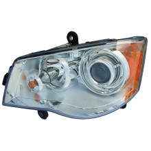 2008 2016 Chrysler Town Country Front Headlight Embly Replacement Housing Lens Cover