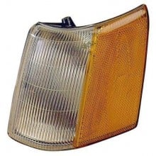 1993 -  1998 Jeep Grand Cherokee Parking Light Assembly Replacement / Lens Cover - Left <u><i>Driver</i></u> Side