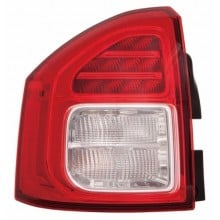 2011 - 2013 Jeep Compass Rear Tail Light Assembly Replacement / Lens / Cover - Left <u><i>Driver</i></u> Side