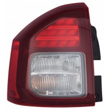 2014 Jeep Compass Rear Tail Light Assembly Replacement / Lens / Cover - Left <u><i>Driver</i></u> Side