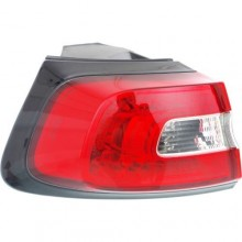 2014 -  2016 Jeep Cherokee Rear Tail Light Assembly Replacement / Lens / Cover - Left <u><i>Driver</i></u> Side Outer
