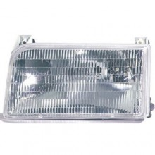 1992 -  1997 Ford F-150 Front Headlight Assembly Replacement Housing / Lens / Cover - Left <u><i>Driver</i></u> Side