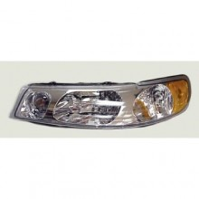 1998 - 2002 Lincoln Town Car Front Headlight Assembly Replacement Housing / Lens / Cover - Left <u><i>Driver</i></u> Side