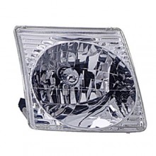 2001 - 2005 Ford Explorer Sport Trac Front Headlight Assembly Replacement Housing / Lens / Cover - Left <u><i>Driver</i></u> Side