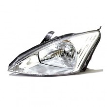 2000 -  2002 Ford Focus Front Headlight Assembly Replacement Housing / Lens / Cover - Left <u><i>Driver</i></u> Side - (LX + SE + Sony Limited Edition + ZTS + ZTW + ZX3 + ZX5)