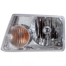 2001 - 2011 Ford Ranger Front Headlight Assembly Replacement Housing / Lens / Cover - Left <u><i>Driver</i></u> Side