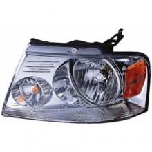2004 - 2008 Ford F-150 Front Headlight Assembly Replacement Housing / Lens / Cover - Left <u><i>Driver</i></u> Side