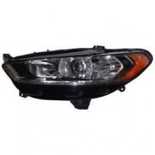2013 -  2016 Ford Fusion Headlight Assembly (CAPA Certified) - Left <u><i>Driver</i></u> Side Replacement