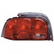 1996 - 1998 Ford Mustang Rear Tail Light Assembly Replacement / Lens / Cover - Left <u><i>Driver</i></u> Side