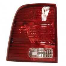 2002 -  2005 Ford Explorer Rear Tail Light Assembly Replacement / Lens / Cover - Left <u><i>Driver</i></u> Side - (Eddie Bauer + Limited + NBX + Postal + XLS + XLT)