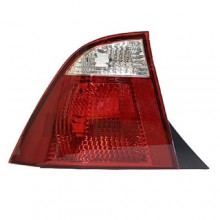 2005 - 2007 Ford Focus Rear Tail Light Assembly Replacement / Lens / Cover - Left <u><i>Driver</i></u> Side - (4 Door; Sedan)
