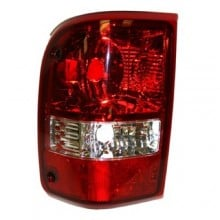 2006 -  2011 Ford Ranger Rear Tail Light Assembly Replacement Housing / Lens / Cover - Left <u><i>Driver</i></u> Side - (Base Model + FX4 + Limited + Sport + XL + XLT)
