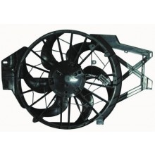 1998 - 2000 Ford Mustang Engine / Radiator Cooling Fan Assembly - (4.6L V8) Replacement